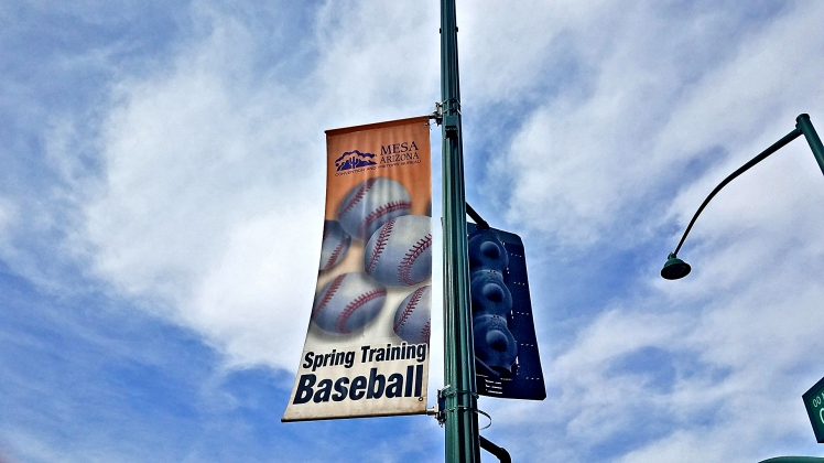 Spring Training Sign